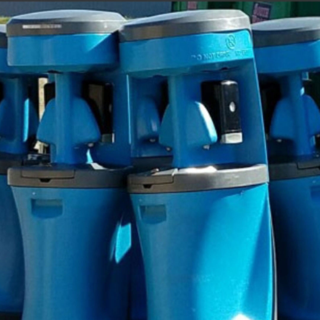 portable toilet hand washing stations